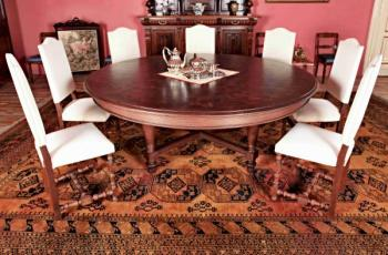 Round Table - oak - 1890