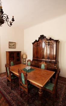Dining Table - solid oak - 1890