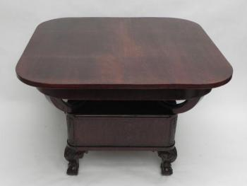 Dining Table - solid wood, walnut veneer - 1930